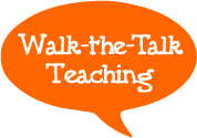 walk talk teach logo